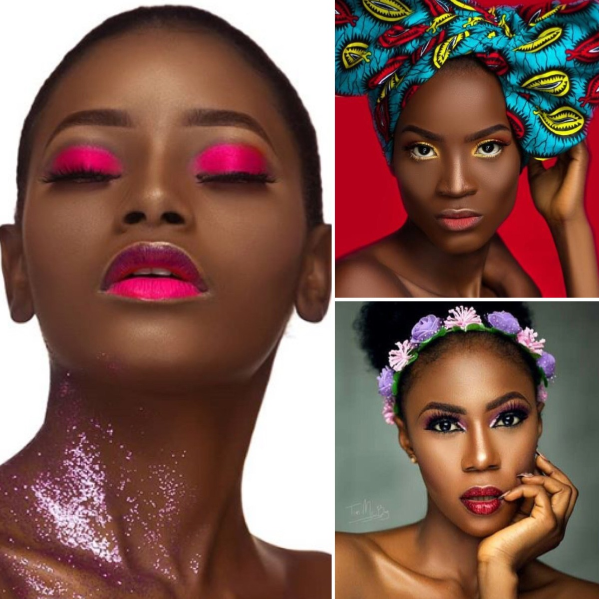 African Makeup Artists Appreciation